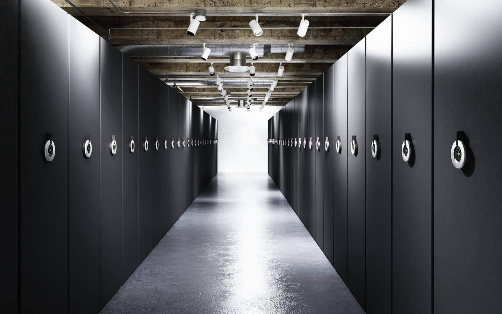 Regały archiwalne elektryczne