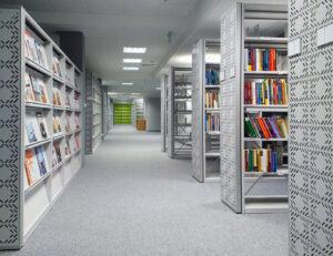 Regały biblioteczne stacjonarne i ekspozycyjne